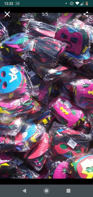 $1 each mask I'm located in maywood 90270 by heliotrope elementary school ty for Sale in Bell, CA