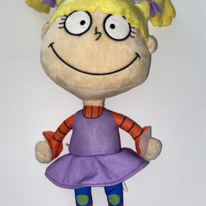 "2018 Viacom Nickelodeon Rugrats Angelica Pickles 17"" Stuffed Plush Soft Toy for Sale in San Diego, CA"