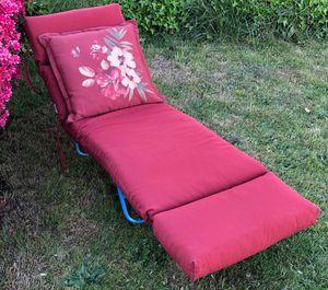 Patio furniture cushions - LIKE NEW for Sale in Philadelphia, PA