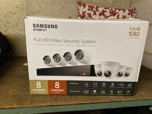 Samsung wisenet security system (brand new, never used only opened box) for Sale in Waterbury, CT