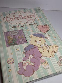 Care Bears Baby Block Board 6 Books Open Box Fair Condition for Sale in North Miami Beach,  FL