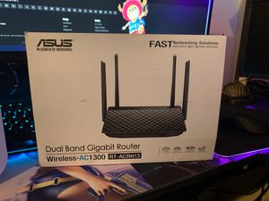 Asus router up to 1GBPS speeds! for Sale in North Las Vegas, NV