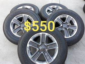 "2019 18"" JEEP WRANGLER JL 5 PCS WHEELS RIMS 100% Tires for Sale in Torrance, CA"