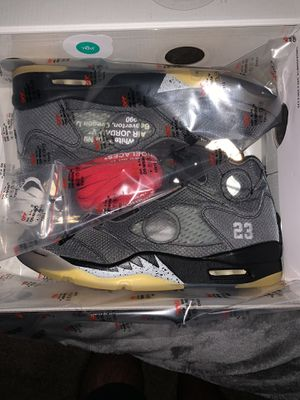Air Jordan 5 Retro Off-White for Sale in Upland, CA