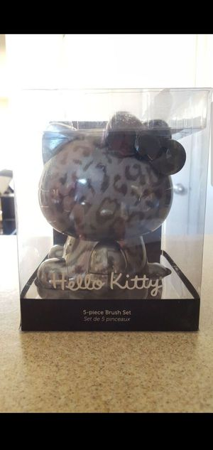 Hello Kitty x Sephora Makeup Brushes (gray & black) for Sale in Las Vegas, NV