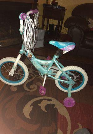 Frozen theme Huffy girl bike for Sale in Boston, MA