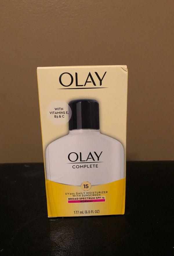 Olay complete daily moisturizer with SPF 15