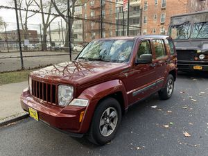 2008 Jeep Liberty Sport 4x4 SUV Runs Perfect Super Clean Good Tires for Sale in Queens, NY