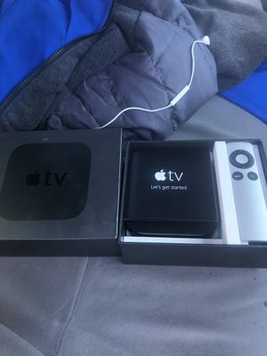 Apple TV only used once still new for Sale in Baltimore, MD