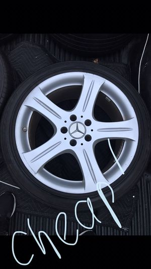 Mercedes Benz Wheels Rims and Tires Package for Sale in Drexel Hill, PA
