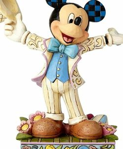 Jim Shore Disney Traditions by Enesco 4059742 Spring Mickey Figurine for Sale in Missouri City,  TX