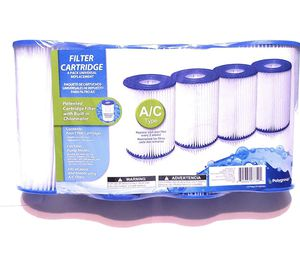 Pool Filters! 4 pack of A or C filters. Summer Waves Brand. for Sale in Lynchburg, VA
