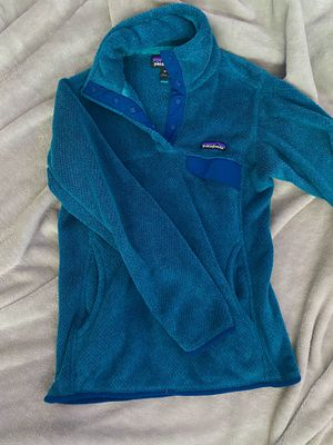 Patagonia synchilla snap-t (teal) for Sale in Seattle, WA