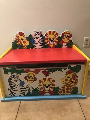 Kids toys storage box animal print for Sale in Lake Elsinore, CA