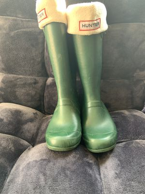 Hunter boots girls for Sale in Sumner, WA