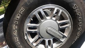 Firestone Destination tires and hummer wheels for Sale in Meherrin, VA
