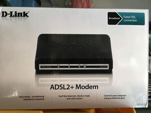 D-Link ADSL + Modem for Sale in City of Industry, CA