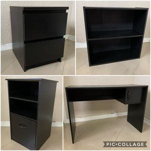 Drawers, night stand, desk and organizer. EVERYTHING MUST GO! for Sale in Miami, FL