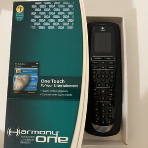 Logitech Touch Screen Universal Control for Sale in Garfield, NJ
