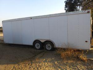 24' haul mark trailer electric brakes tilt door for Sale in Fresno, CA