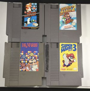 NES Super Mario Bros 3 Game & more for Nintendo entertainment system for Sale in Las Vegas, NV