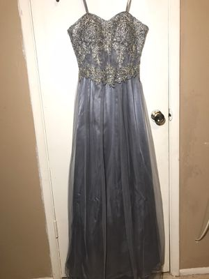 Grey Strapless Prom Dress for Sale in Buckeye, AZ