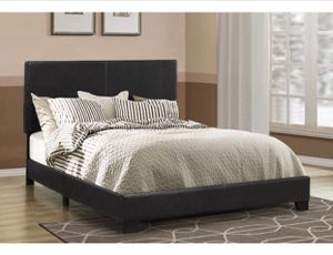 Queen & King Size Leatherette Bed Frames (New) Same Day Delivery & Financing Available for Sale in Atlanta, GA