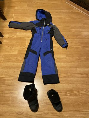 Snow pants and boots for kids for Sale in San Diego, CA