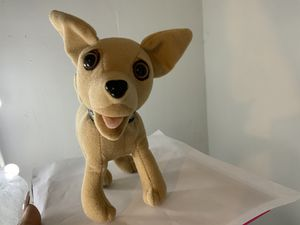 Vintage Collectable Talking Taco Bell Chihuahua black collar $10 OBO for Sale in Gresham, OR