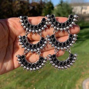 Black Stone Lightweight Earrings for Sale in Rockville, MD