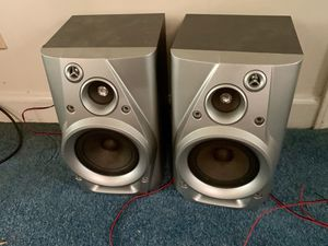 2 Wired Audio Speakers / SPEAKERS for Entertainment System, Gaming, TV, Audio SPEAKERS with Wires for Sale in Angier, NC