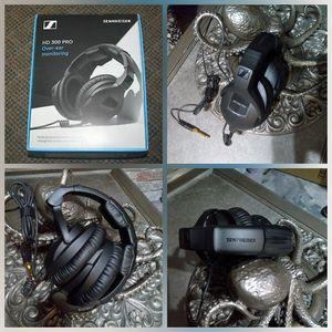 Sennheiser HD 300 Pro Monitoring Headphones for Sale in Visalia, CA