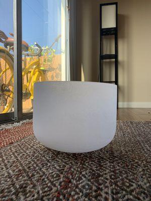 "Singing bowl 10"" solar plexus E note for Sale in Los Angeles, CA"