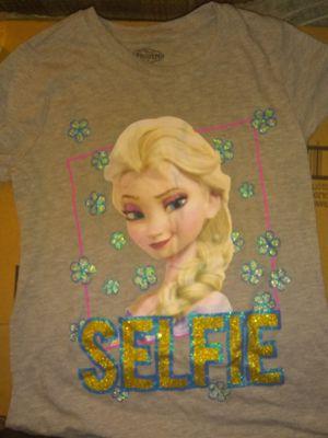 Disney's Frozen Elsa shirt (size 14) for Sale in Hamlin, WV