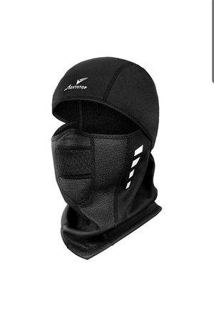 Balaclava Ski Mask,Motorcycle Running Full Face Cover Windproof Waterproof Face Mask for Men Women, Ski&Snowboard Gear Black for Sale in City of Industry, CA