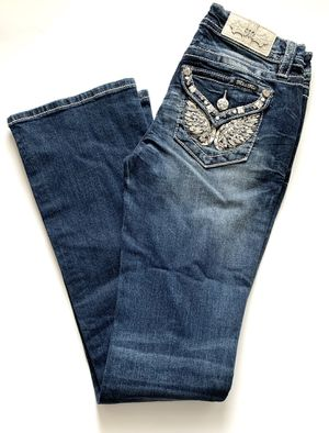 """Miss Me Jeans Size 27 Chloe Boot Cut Brand New 34"""" Inseam for Sale in Ashburn, VA"""