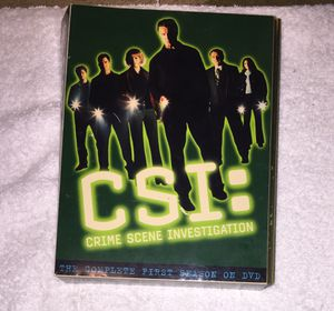 CSI DVD Season 1 Complete for Sale in Joint Base Pearl Harbor-Hickam, HI
