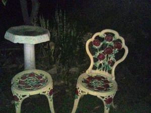 Beautiful heavy detailed garden furniture for Sale in Rosemead, CA