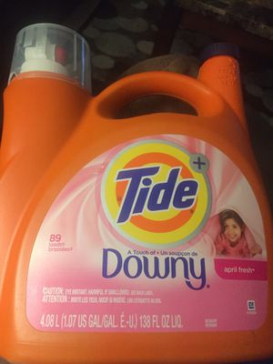 Tide Liquid with Downy for Sale in Fresno, CA