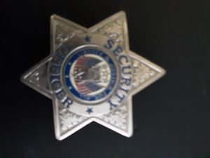 Security guard badge for Sale in Joint Base Lewis-McChord, WA