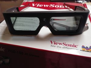 Viewsonic 3d glasses for Sale in Bixby, OK
