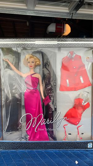 Marilyn Monroe Barbie- How to marry a millionaire for Sale in Garden Grove, CA