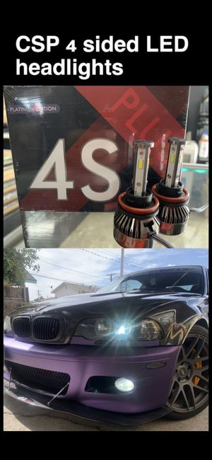 Super bright 4 sided CSP LEDs for all cars available 1 year warranty for Sale in Los Angeles, CA
