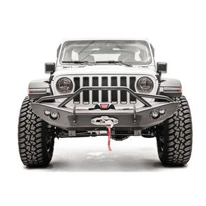Fab Fours Lifestyle Winch Front Bumper with Guard - JL18-B4652-1 for Sale in Chula Vista, CA