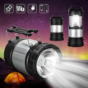 NEW Solar Power Rechargeable Battery LED Flashlight Camping Tent Light Lantern Lamp for Sale in Las Vegas, NV