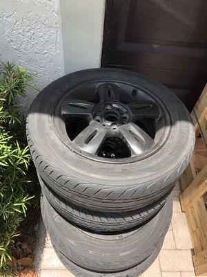 15in rims 4lug gloss black for Sale in Miami, FL