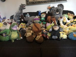 Stuffed animal lot for Sale in Sunnyvale, CA
