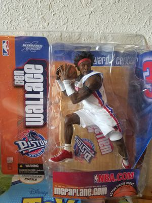 NBA Ben Wallace Action Figure Debut for Sale in Tacoma, WA