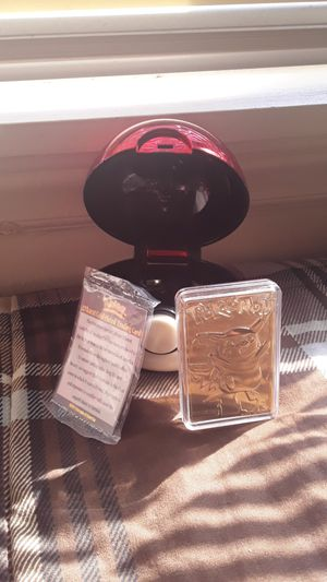 23 karat gold plated pikachu for Sale in Zebulon, NC