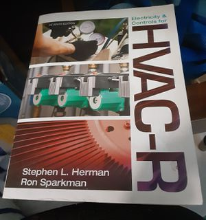 HVAC-R TEXTBOOK ELECTRICITY AND CONTROLS for Sale in Sebastian, FL